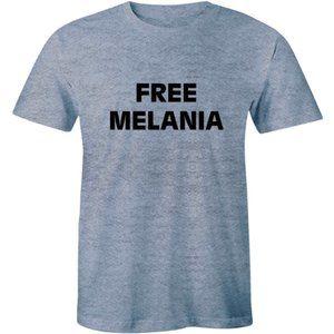 Free Melania Design American Trump Men Tee T-shirt